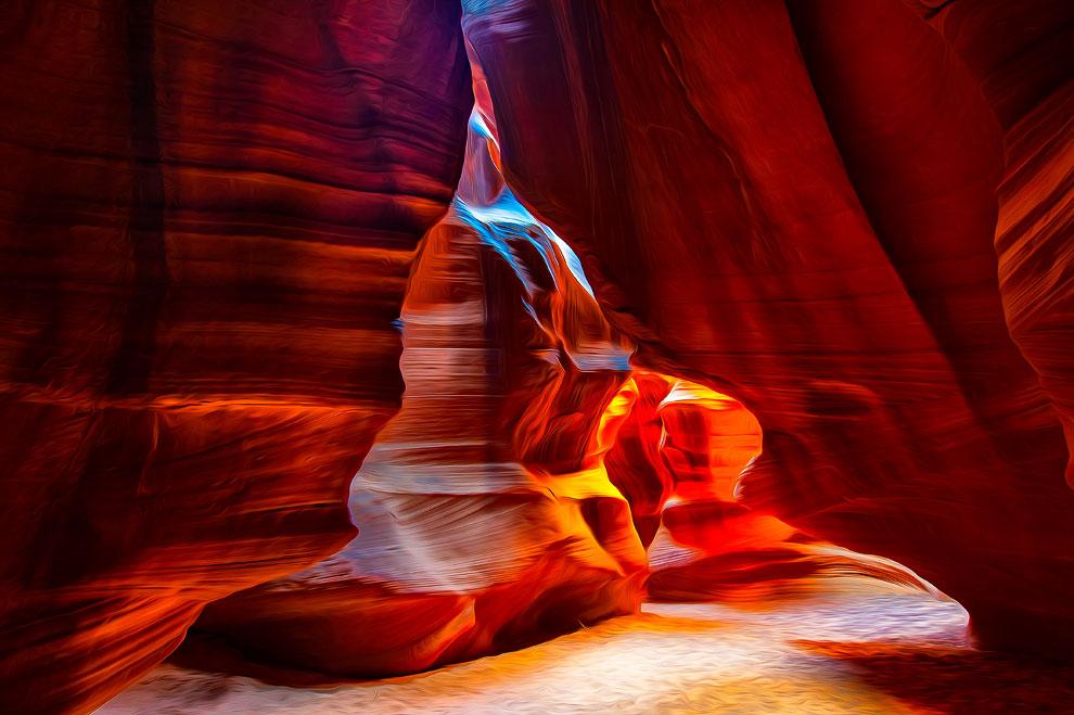 Каньон Антилопы в Аризоне (США) - фото 3