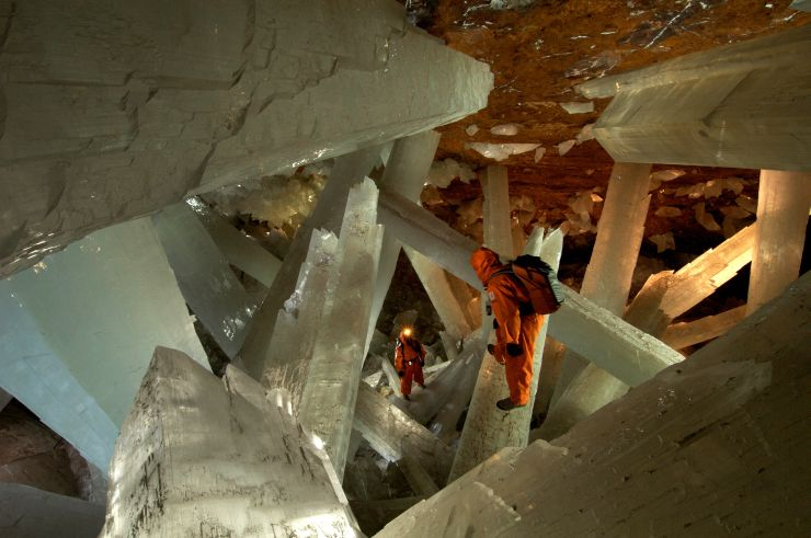"""Кристальная """"пещера гигантов"""" в Мексике - фото 2"""