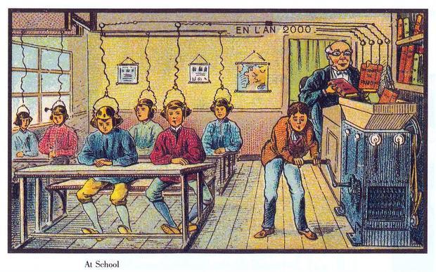 футуристические картинки Жана Коте