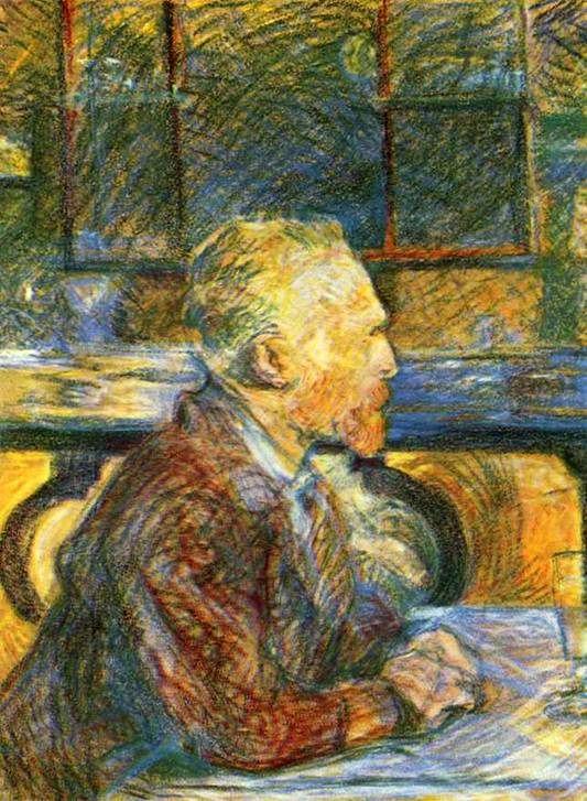 Portrait of Vincent van Gogh 1887