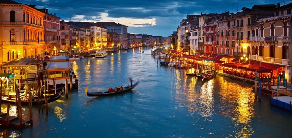 Венеция расположена на небесах