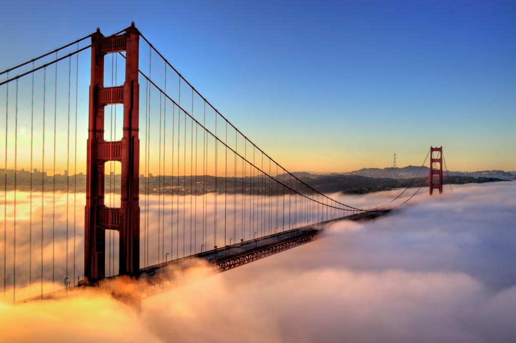 """Golden Bridge"" в Сан-Франциско"