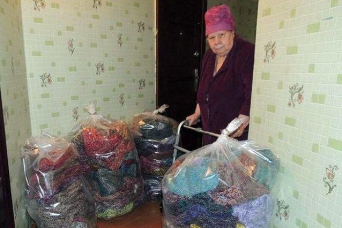Жительница Магадана Руфина Ивановна Коробейникова
