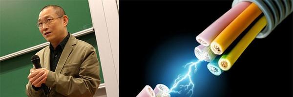 Ма Цянь-Гань не боится электр.тока