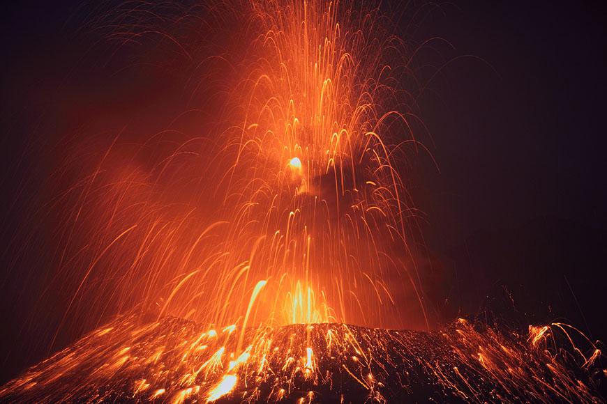 Извержение вулкана Сакурадзима