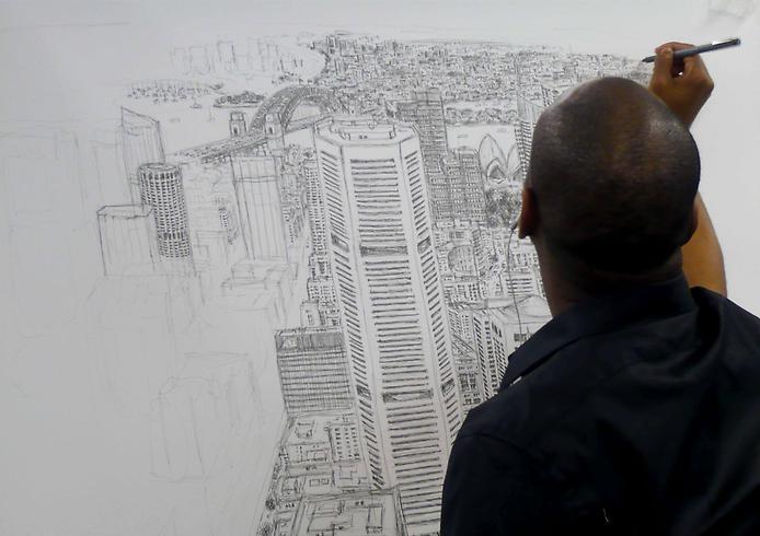 Стивен Уилтшер - аутист-художник