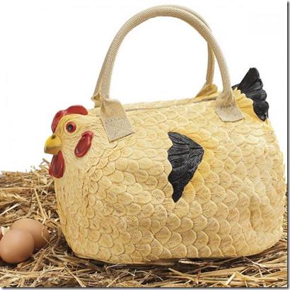 сумка в виде курицы