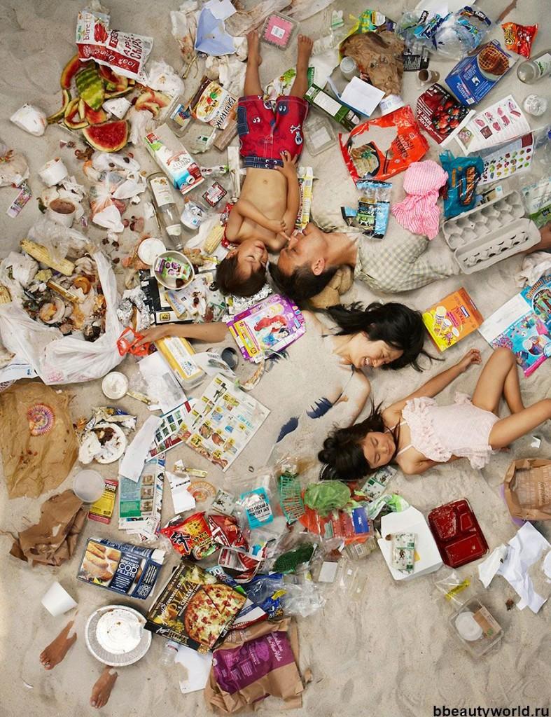 люди и мусор