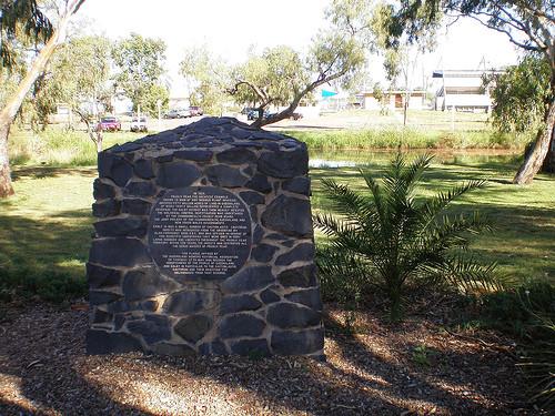 Памятник моли в Австралии