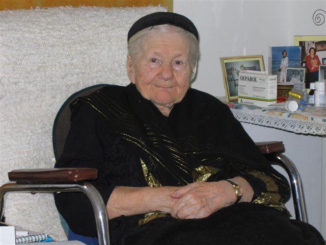 Ирена Сендлер в старости