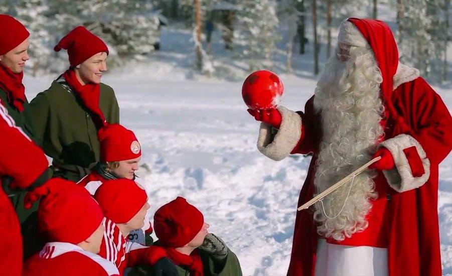 Традиция в финляндии на новый год
