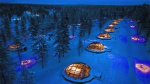 Ледяной отель в Финляндии