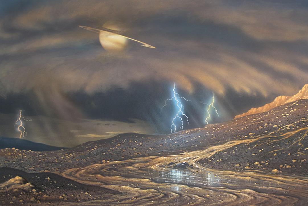Погодные условия планеты Титан
